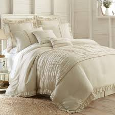 luxury 8pc ivory duvet cover king 100pct polyester material