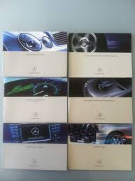 mercedes benz w211 e320 e500 e55 owners manual booklet case