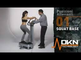 pedana vibrante dimagrire squat base esercizi pedana vibrante dkn