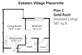 Assisted Living Facility Floor Plans by Independent Assisted Living U0026 Memory Care In Placerville