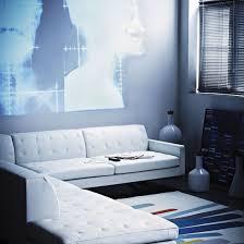 Modern Blue Living Room by Living Room Design Ideas Ideal Home