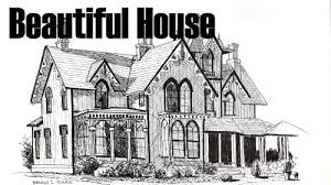 drawing a house how to draw a beautiful house in pen and ink online art lessons