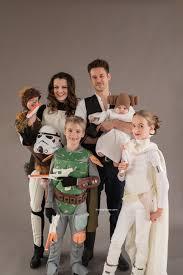 star wars themed family halloween costume photos