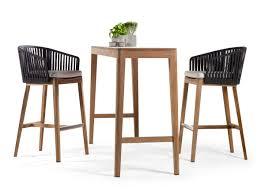 Garden Bar Table And Stools Tribu Mood Garden Bar Stool Tribu Outdoor Furniture At Go Modern
