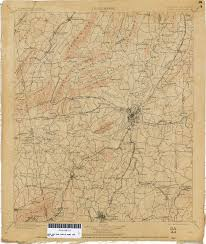 Map Rome Georgia Historical Topographic Maps Perry Castañeda Map