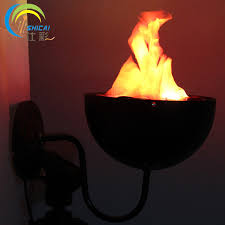 Flame Decorations Aliexpress Com Buy Wall Brazier Lights Simulation Flame Light