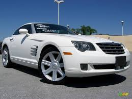 2005 alabaster white chrysler crossfire limited coupe 10776687