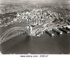 And City Aerial Photo From Sydney Harbour To City Sydney New