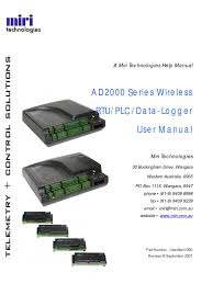 ad2000 series products user manual version 3 general packet
