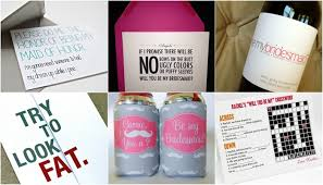 asking bridesmaid gifts will you be my bridesmaid ideas