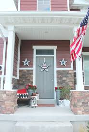 build these wooden star decorations for the fourth of july