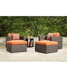 orange patio conversation sets outdoor lounge furniture the