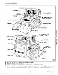 bobcat t190 compact track loader service repair workshop manual