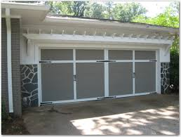 diy garage trellis door