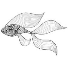 black and white fish coloring page coloring pages coloring and