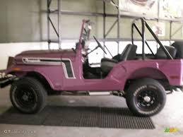 purple jeep interior 1972 custom purple amc jeep cj5 60934755 gtcarlot com car