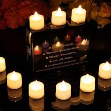where to buy battery tea lights 12 warm white steady flame led battery operated tealights
