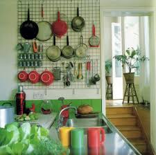 creative kitchen gridwall rack 68 remodel home decorating ideas
