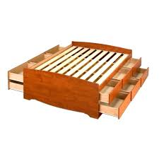 brusali bed frame with 4 storage boxes queen ikea brilliant