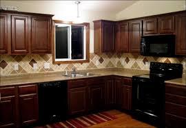 Kitchen  Kitchen Backsplash Ideas With White Cabinets Farmhouse - Brick veneer backsplash