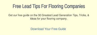 how flooring companies get leads with social media