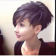 history on asymmetrical short haircut funky short haircuts pinteres