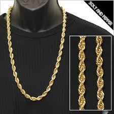 golden rope necklace images Gold rope chain necklace extol info jpg