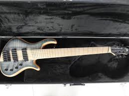 fanned fret 6 string bass mayones custom bass guitar 6 string mayones fanned frets electric