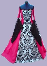 gothic wedding gown red gothic ball gown