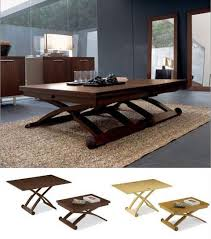 Calligaris CSGTR  Mascotte Extendable Coffee Or Dining - Adjustable height kitchen table