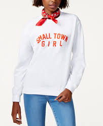 sub urban riot small town graphic sweatshirt tops women