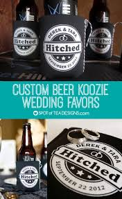 koozie wedding favor custom koozie wedding favor