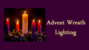 advent candle lighting order advent wreath lighting