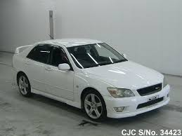 lexus altezza for sale in japan 1999 toyota altezza white for sale stock no 34423 japanese