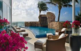 Tropical Climbing Plant - elevated swimming pool tropical with climbing plant toys and