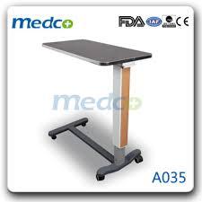 hospital bed tray table a035 hospital bed tray table buy folding bed table folding tray