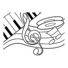 music notes coloring sheets coloring pages music