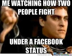 Download Memes For Facebook - me watching how people fight in facebook by mihkel meme center