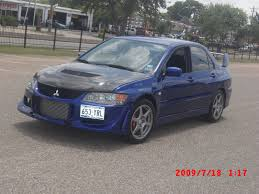 mitsubishi evolution 2005 2005 mitsubishi lancer evo 8 for sale houston texas