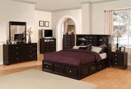 Black Leather Bedroom Furniture King Bedroom Suites Brown Faux Leather Furniture Size Sets For