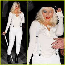 Clockwork Orange Halloween Costume Christina Aguilera Clockwork Orange Christina Aguilera