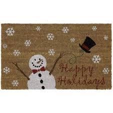Home Depot Holiday Decor 32 Best Doormats Images On Pinterest Door Mats Christmas Decor