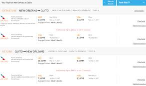 expired summer new orleans to quito ecuador for only 326