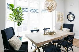 Navy Blue Dining Room Contemporary Dining Room Para Paints - Navy and white dining room