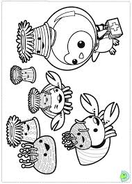 octonaut coloring pages octonauts coloring page dinokids org