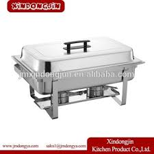f433 8qt quart economy stainless steel chafing dish warming tray