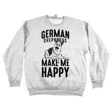 german shepherds make me happy u0027 tee gsd dog lover apparel t