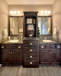 Image Result For Two Floor To Ceiling Cabinets Sink Between For - Floor to ceiling cabinets for bathroom