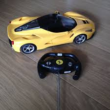 toy ferrari 458 radio control toy yellow ferrari 458 italia 1 14 scale in sutton
