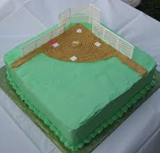 tracy probst u0027s blog softball field cake